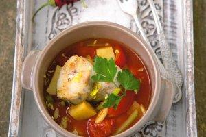 Menu dnia z zup� rybn�