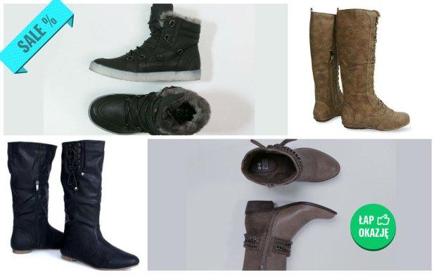 Buty na zim� z wyprzeda�y - zobacz modne i niedrogie propozycje