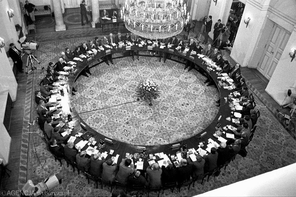 Obrady okrągłego stołu, Warszawa, 04.1989
