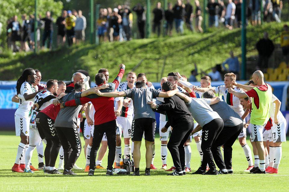 Radość piłkarzy GKS-u Tychy
