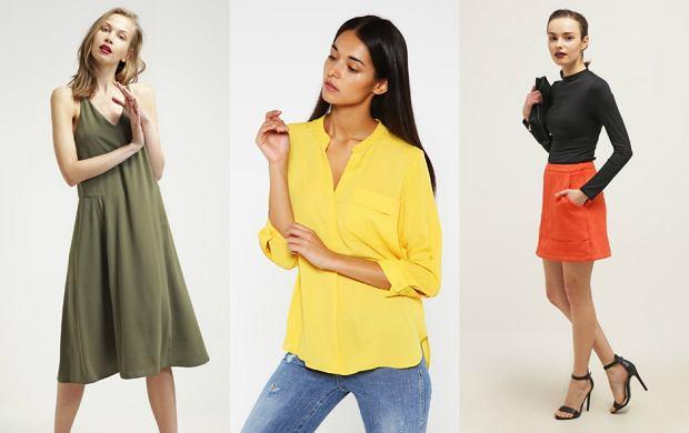 Ubrania w najmodniejszych kolorach lata - wybierz swój kolor