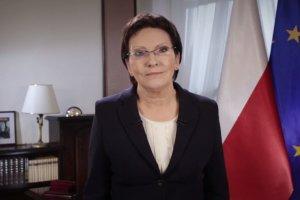 """Noworoczne obietnice Kopacz: """"B�d� nieugi�ta dla interesownych"""". I �yczenia: """"Niech 2015 nas zbli�y"""""""