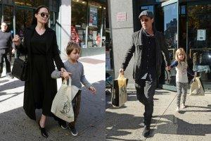 Angelina Jolie, Brad Pitt z dzie�mi