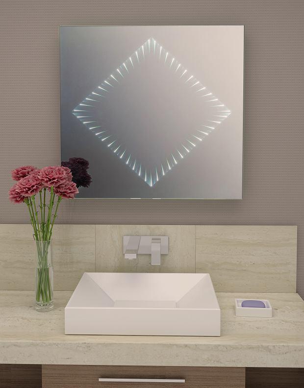 Lustro łazienkowe 3D Diamond LED
