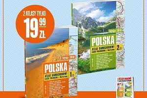 Atlasy drogowe Polski -  już w sprzedaży