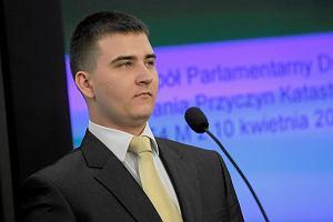 Bartłomiej Misiewicz: Składamy zawiadomienie o możliwości popełnienia przestępstwa przez byłych szefów CEK NATO