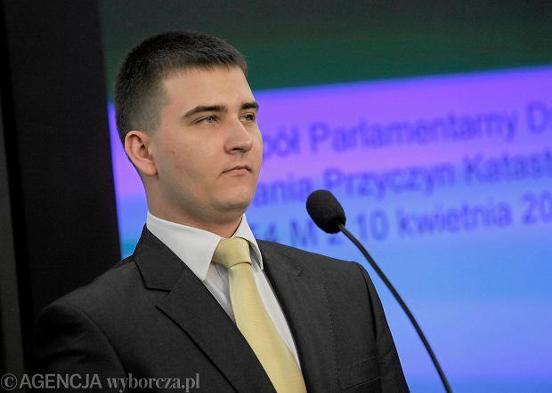 Bart�omiej Misiewicz: Sk�adamy zawiadomienie o mo�liwo�ci pope�nienia przest�pstwa przez by�ych szef�w CEK NATO