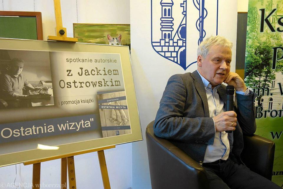 Spotkanie z Jackiem Ostrowskim