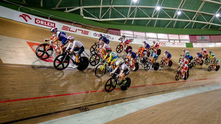 Zawody Grand Prix Polski na torze kolarskim w Pruszkowie
