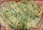 Pani z Gliwic pocięła na kawałeczki 40 tys. dolarów. Policja próbuje ustalić, dlaczego to zrobiła