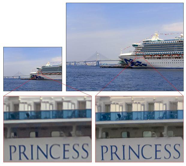 Sensor Sony IMX586 - zdjęcie po prawej