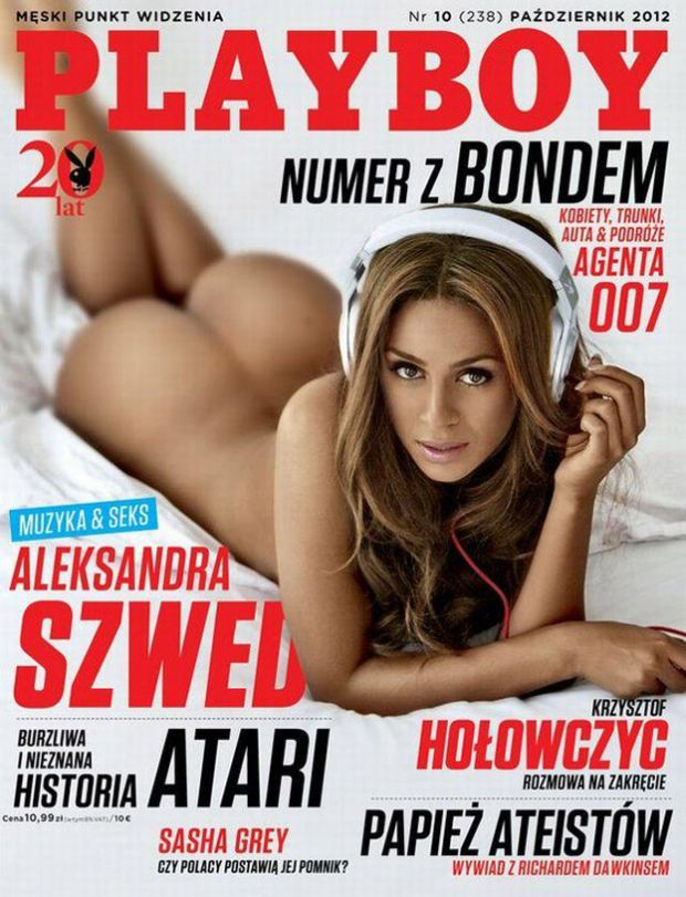 Ola Szwed, playboy
