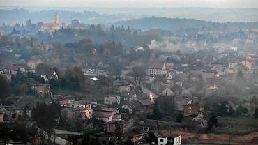 Smog nad Rybnikiem