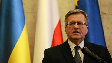 Bronisław Komorowski w Kijowie