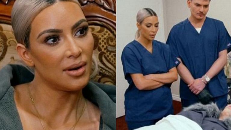 Kim Kardashian malowała nieżyjącą kobietę