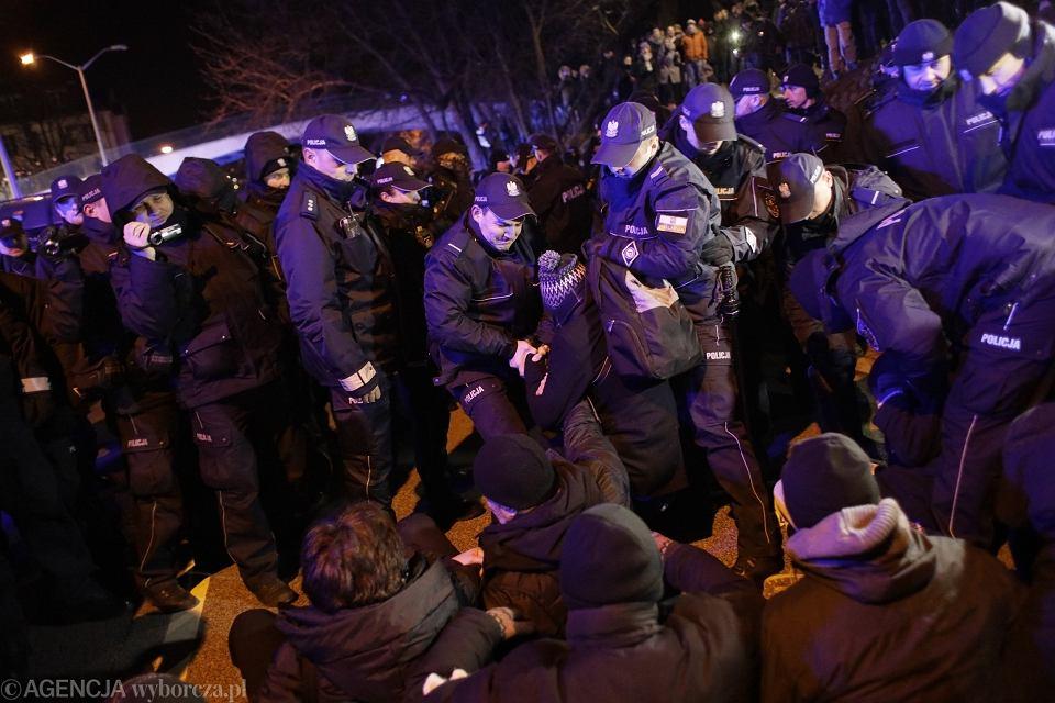 8Protest Koalicji Prodemokratycznej  Walczymy do konca '