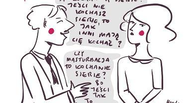 Rada dla tych, którzy czują się niekochani (rys. Magda Danaj)