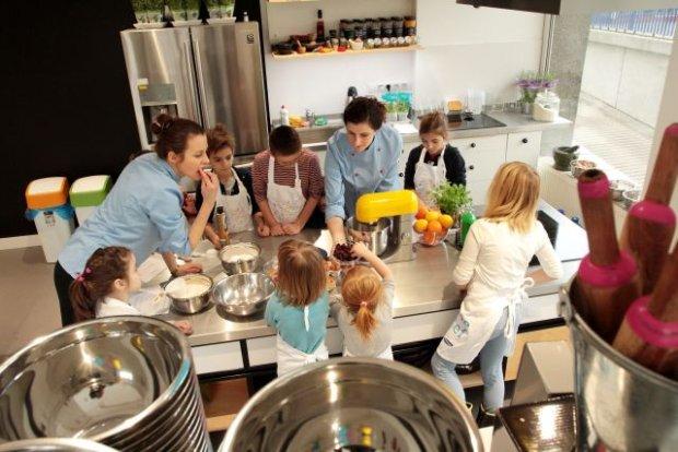 Samsung wyposażył szkołę gotowania Little Chef -> Kuchnia Dla Dzieci Little Chef