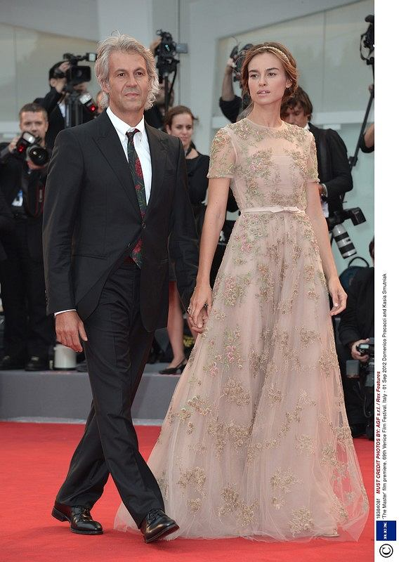 Mandatory Credit: Photo by AGF s.r.l. / Rex Features (1838408f)  Domenico Procacci and Kasia Smutniak  'The Master' film premiere, 69th Venice Film Festival, Italy - 01 Sep 2012
