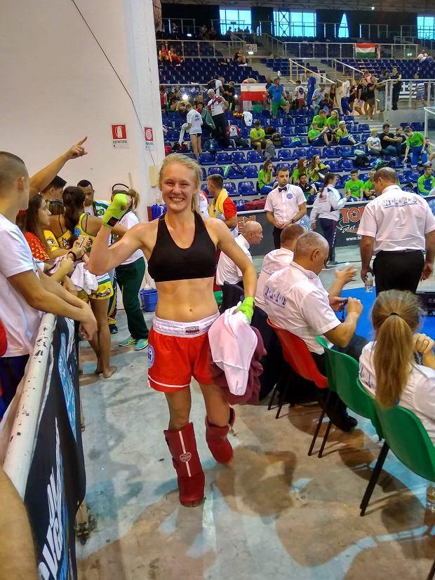 Wojownicza Agata Fijałkowska wicemistrzynią świata