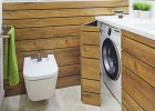 Łazienka: miejsce na pralkę