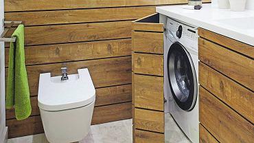 Chowanie pralki w łazience
