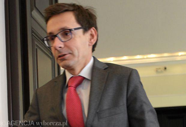 Minister skarbu Miko�aj Budzanowski