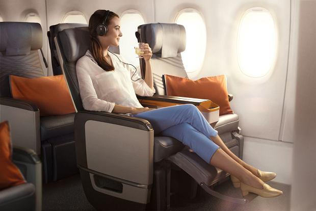 Klasa Premium Economy. Singapore Airlines
