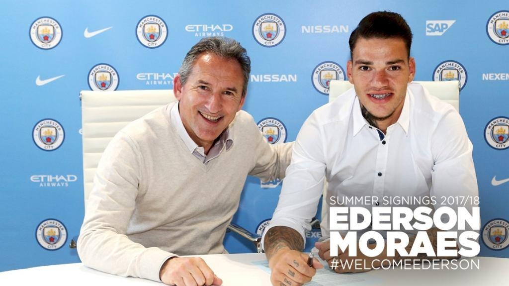 Ederson podpisał kontrakt z Manchesterem City