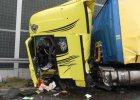 Kierowca tira po czołowym zderzeniu na autostradzie: Nie mogłem nic zrobić