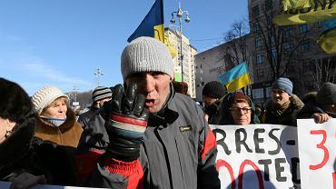 Protesty w Kijowe