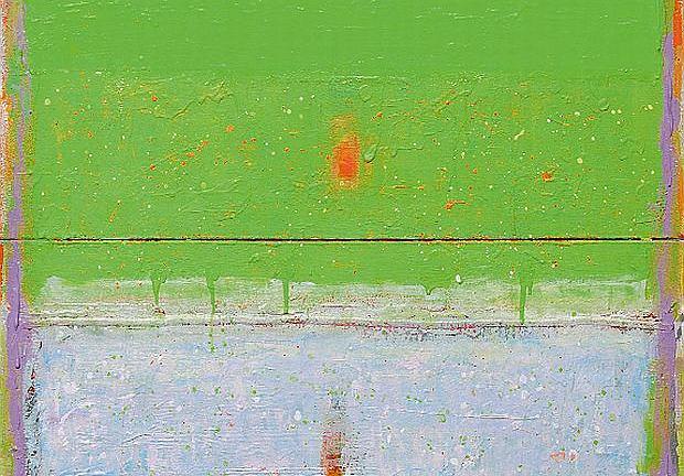 Fresch, 2015, akryl na płótnie, 140 x 100 cm.