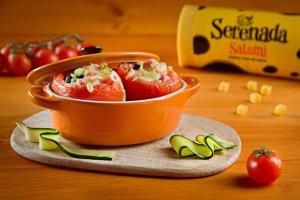 Idealne przepisy z serem Salami Serenada