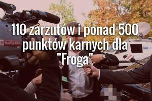 """RMF FM: Bilans """"Froga"""" wg prokuratury? 110 zarzut�w i ponad 500 punkt�w karnych. Wyrok"""