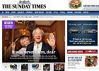 """Murdoch przeprasza �yd�w za rysunek w """"Sunday Times"""""""