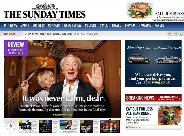 """Murdoch przeprasza Żydów za rysunek w """"Sunday Times"""""""