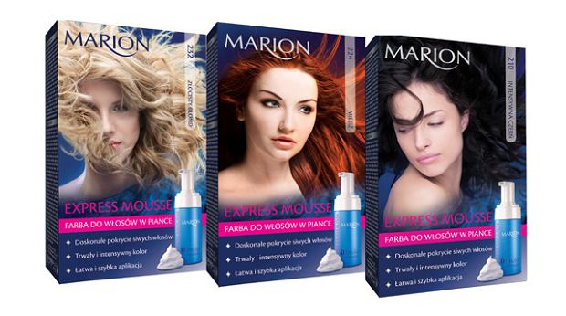 EXPRESS MOUSSE - farby do w�os�w Marion