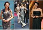 """Angelina Jolie promuje sw�j nowy film """"Unbroken"""". Niestety, nie wygl�da zdrowo. Wychudzone ramiona, bardzo szczup�a sylwetka. Nawet du�y biust nie odwraca od tego uwagi [ZDJ�CIA]"""