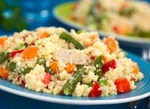 Kuskus z kurczakiem i warzywami - ugotuj