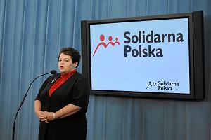 Marzena Wr�bel odchodzi z Solidarnej Polski? Nie chce by� cz�onkiem ko�a poselskiego
