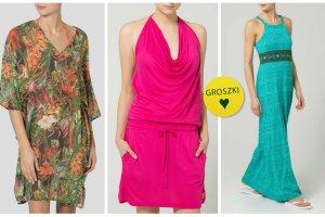 Wakacyjne tuniki i sukienki, kt�re za�o�ysz na pla��