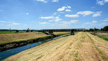Nowe mosty wojskowe zbudowane w Brzegach dla pielgrzymów, którzy przyjadą tam w lipcu na Dni Młodzieży