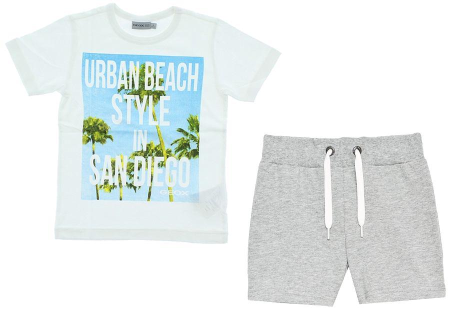 Szorty na lato i koszulki dla chłopca