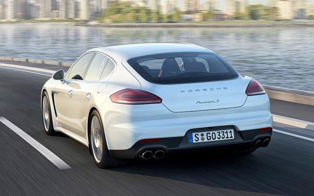 Porsche Panamera S E-Hybrid | Test | Bia�y nied�wied�