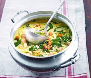 Zupa jarzynowa z kalarepą