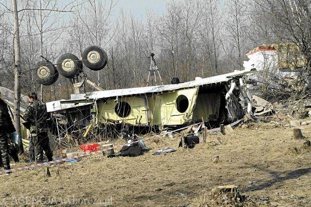 Miejsce katastrofy Tu-154 pod Smole�skiem