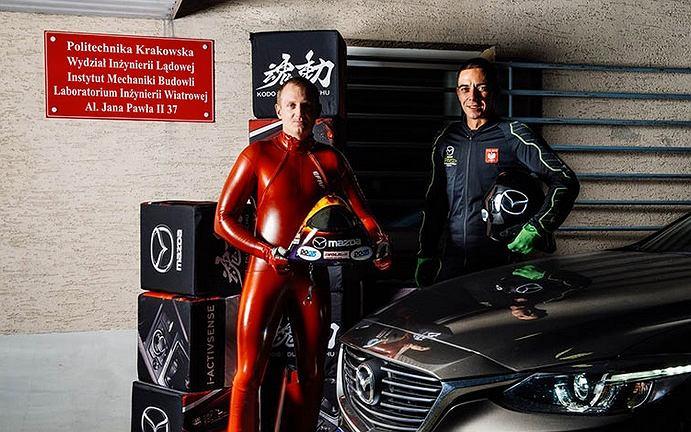 Mazda Sky Speed Team i Jędrzej Dobrowolski