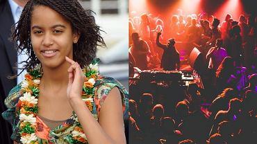 Malia Obama, Impreza w klubie Sugar Factory w Amsterdamie