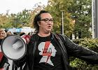 Policja nęka obywateli. Liderce strajku kobiet postawiono zarzut