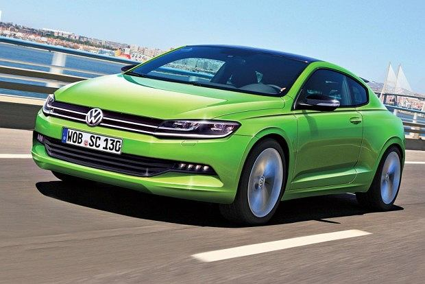 """Zupe�nie nowy"" Volkswagen Scirocco"